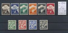 LM81114 Suriname 1929 green cross charity stamps fine lot used cv 50 EUR
