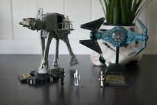STAR WARS MICRO MACHINES TIE-INTERCEPTOR & AT-AT