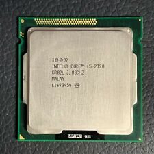 New listing Intel Core i5-2320 3.0Ghz Lga 1155/Socket H2 5 Gt/s Desktop Cpu Sr02L *Tested*