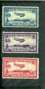 NEW ZEALAND   MH   C6-8   Plane over landing field     PX671