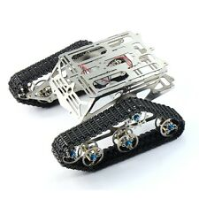 Roboter-Chassis Raupen Arduino Panzer Chassis Wali w / Motor Edelstahl F17340