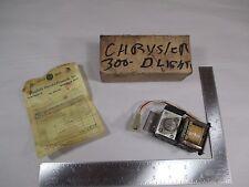 1971 Chrysler 300 Dash Light Relay New Old Stock w/ Original Receipt NOS VSG