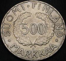 FINLAND 500 Markkaa 1952 - Silver - Olympic Games - XF - 59 ¤
