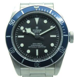 Tudor Watch Stainless Steel Automatic Black 3611