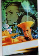 STREET FIGHTER VOL 1 # 6 2004 SPECIAL POWER CEL COVER  JO CHEN IMAGE CAPCOM