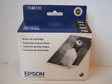 NEW Genuine Epson T040120 Black Stylus Ink Cartridge C62 CX3200 Expired 07/2015