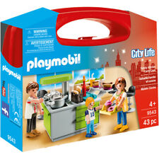 Playmobil City Life Family Kitchen Carry Case - 9543