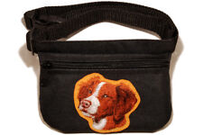 Brittany Dog treat pouch/bag for dog shows & training.