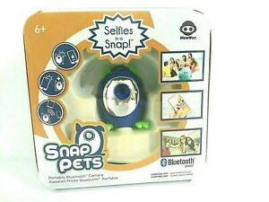 Snap Pets Wow Wee Selfies in a Snap! Selfie Electronic Bluetooth Camera Portable