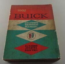 Manuel D'Atelier Buick Lesabre, Invicta + Electra De 1962