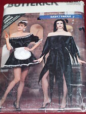 BUTTERICK #5800-LADIES GOTHIC - ELVIRA - VAMPIRESS - NAUGHTY MAID PATTERN 6-18uc