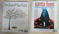Lot (2) Santa Fe Indian Market magazines Artist profiles Native 2006 + 2010