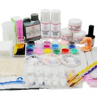 Coscelia Acrylic Care Kit Nail Art Powder Liquid UV Primer Tool Manicure Set DIY