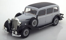 1937 Mercedes Benz 260D Pullman Light Grey/Black by BoS Models LE of 504 1/18
