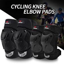 MTB Knee Pads Cycling Elbow Guard Bike Ski Skateboard Knee Brace Protective Gear