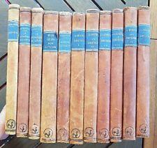 LOT 11 livres chez Hilsum éditeur: Nerval, Balzac, Mérimé, Rousseau, La Bruyere