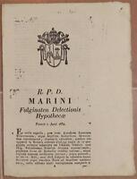 SENTENZA SACRA ROTA FOLIGNO UMBRIA GIUSEPPE FRANCIO ORVIETO BEVAGNA ANDREOLI 832