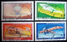 B0 160  BERLIN 1978 Michel 563 - 566 Jugend Luftfahrt Sonderstempel