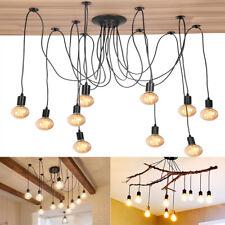 Vintage Adjustable Ceiling Light Spider Lamp Holder Pendant Lighting Edison DIY