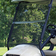 Club Car Precedent golf cart Clear Windshield with Folding Acrylic  2004-UP