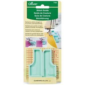 CLOVER 6-IN-1 STICK & STITCH SEAM GUIDE - sewing machine seam guide - CL7708