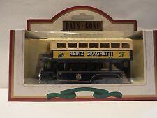 LLEDO DG49 013 1931 AEC RENOWN DOUBLE DECK BUS - HEINZ SPAGETTI - RARE