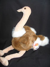 TY BEANIE BUDDY SRETCH - THE OSTRICH - RETIRED WITH TAG