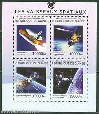 Guinea 2014 Space Shuttle & Satellites Sheet Mint Nh