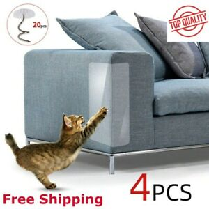 4 x Pet Cat Scratch Guard Mat Cat Scratching Post Furniture Sofa Protectors Home