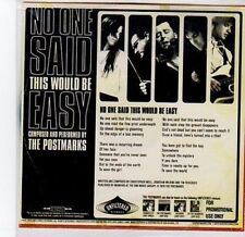 (BY954) The Postmarks, No One Said This Would Be Easy - 2010 DJ CD
