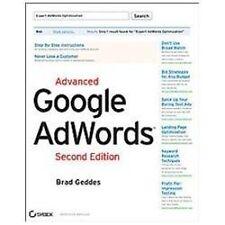 Advanced Google AdWords, Second Edition, Geddes, Brad, Good Condition, Book