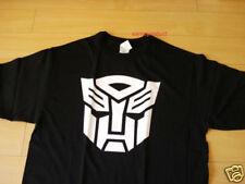 Funny T-Shirt Transformer Logo Black Color  (Size XL)