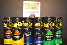 TABLE SHUFFLEBOARD SAND SALT POWDER WAX MEDIUM SPEED SAMPLER 6 PACK +TWO BONUSES