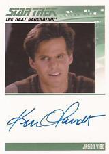 "Star Trek TNG H&V - Ken Olandt ""Jason Vigo"" Auto / Autograph Card"
