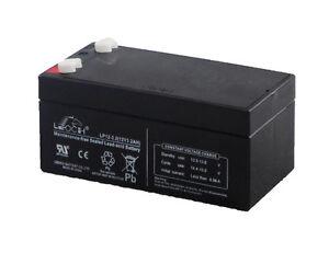 LP12-3.2 Leoch 12 volt 3.2Ah Rechargeable Sealed Lead Acid 12 V Battery