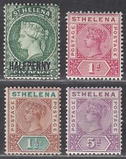 St Helena 1890-96 Queen Victoria Selection to 5d Mint