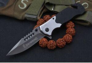 Browning Folding Knife Pocket Knives Outdoor Camping Hunting Fishing Survival AU
