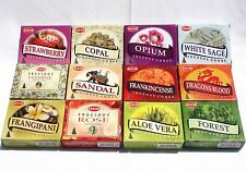 Hem Incense Cones Collection #3 - 12 boxes x 10 cones Mixed Lot 120 cones total