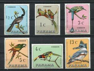 37240) Panama 1967 MNH Birds 6v Scott #478/78E