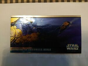 Star Wars Topps Widevision 1999 Episode I Series Two Hobby Chrome Chase H-C2...
