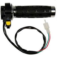 Gas Throttle Grip with Start/Off Switch for X1, X2, X8 Pocket bike 49cc 2-stroke