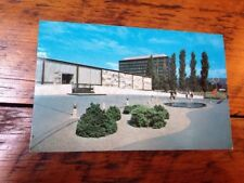 Vtg 1959 Mid Century Modern Architecture Corning NY Glass Center Color Postcard