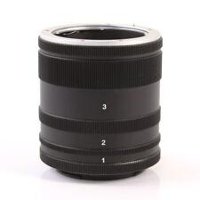 Makro Verlängerungsrohr Ring Adapter für Sony E-Mount Kamera A7 A7S A7R II III