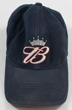 Size  One Size. Original Vintage Anheuser Busch King Of Beers Budweiser  Stretch Fit Blue Hat 7b2fbe7a1