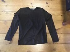 Peter Werth V Neck Brown Jumper - Small (2)