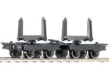Roco 34602 Güterwagenset 2x Drehschemelloren H0e