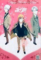 Japanese Anime Yuri!!! On Ice Poster #A4 Yuri Katsuki Victor Nikiforov Plisetsky
