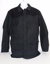 WALLS Blizzard-Pruf INSULATED WORK RANCH Jacket PARKA Mens Size XL BLACK EUC!
