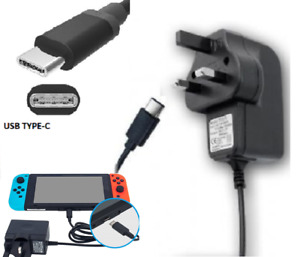 3 pin Power charger adapter type c compatible with Nintendo Switch/ switch lite