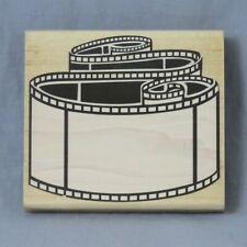 Posh Impressions Filmstrip Frame Z796G Rubber Stampede Stamp Camera Movie Video